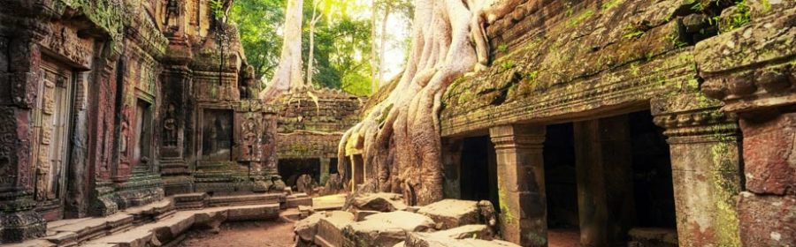 Ancient 'Lost City' of Khmer Empire Rediscovered Hidden Under The Cambodian Jungle