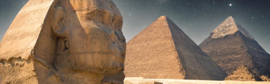 The Egyptian pyramids may align with an ancient North Star. NASA scientists found that star undergoes never-before-seen eclipses.