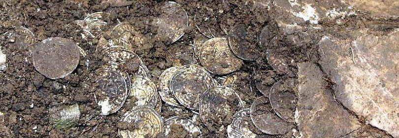 Medieval coins worth more than £1 MILLION found buried in England