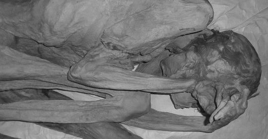 An archaeologist who followed a hunch has discovered the oldest figural tattoo in the world on the bodies of two 5,000-year-old mummies from Egypt.