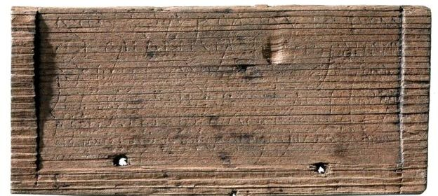 An oldest hand-written Roman document discovered in London