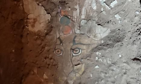 2,000-Year-Old Leopard Face Painting Reconstructed From Egyptian Sarcophagus