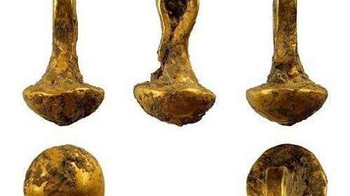 24 carat gold jewellery made 6,600 years ago found at prehistoric settlement in Bulgaria