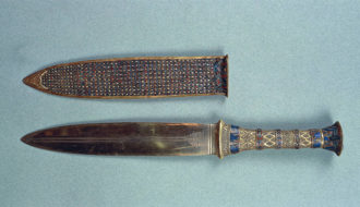 King Tutankhamun's dagger of space origin, research suggests