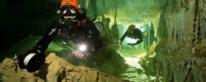 Archaeologists in Mexico Discover Treasure of Mayan Civilization and Giant Sloth Fossils in a Vast Underwater Cave