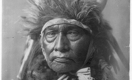 In the early 20th century, 33 striking portraits of native American culture