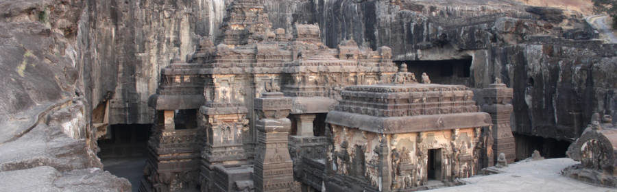 1200 YEARS OLD ANCIENT HINDU TEMPLE CARVED ENTIRELY FROM A SINGLE ROCK