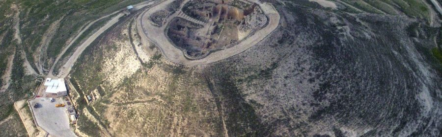 Entrance to King Herod the Great's palace unearthed