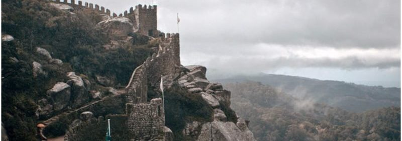 A CASTLE BUILT BY THE MOORS, TAKEN BY THE VIKINGS, AND CONQUERED BY THE KING OF PORTUGAL