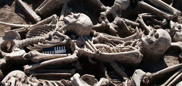 Archaeologists find 60 Roman British skeletons buried in a field