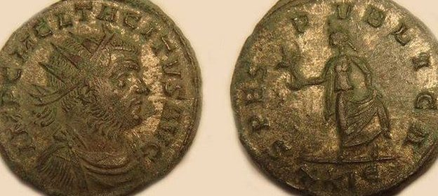 Roman coin hoard found by metal detectorists in Leominster