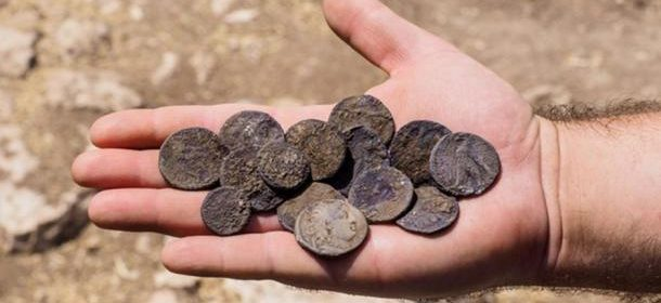 Hoard of Hasmonean Period Silver Coins Unearthed in Israel