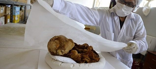 Mummified Pre-Inca Baby Found At Historic Tomb Complex In Peru