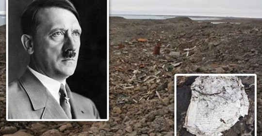 'Secret' German World War II island found by archaeologists with troves of Nazi artefacts exposed