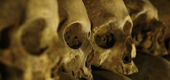 Gruesome discovery uncovers thousands of bones under the medieval church