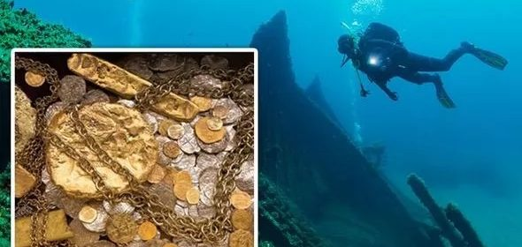 Inside £300million 17th-century 'shipwreck of century' discovery