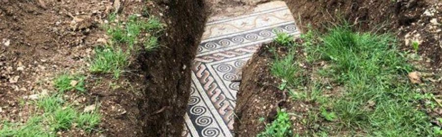 In northern Italy archaeologists have uncovered a rare gem — an incredibly well-preserved mosaic floor from ancient Rome. After almost a century of research, the discovery was made on the site of a long-lost villa.