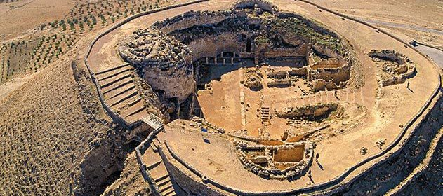 King Herod's grave uncovered in hilltop fortress