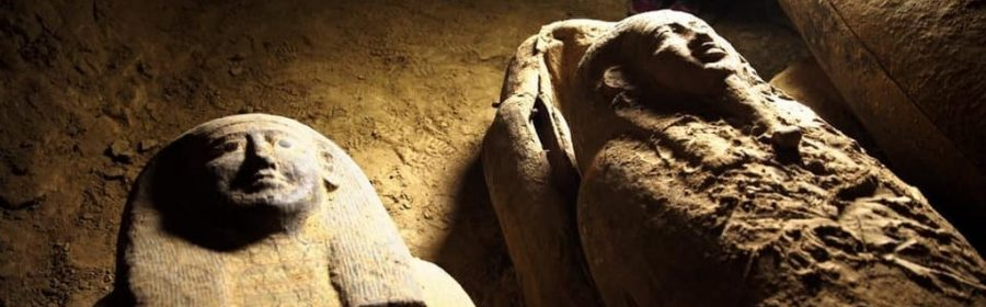 Over a dozen 2,500-year-old untouched mummies discovered in Egypt