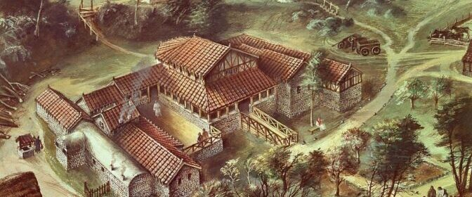 Ancient 'Roman Village' unearthed in Germany