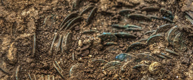 Farmer discovers a huge hoard of more than 4,000 ancient Roman coins in Switzerland