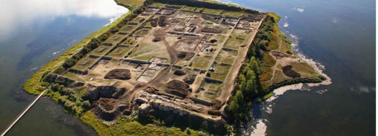 1,300-year-old fortress-like structure on Siberian lake continues to mystify experts