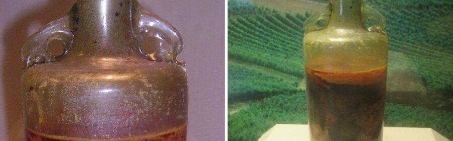 World's Oldest Unopened Bottle of Wine Remains Sealed Since the 4th Century