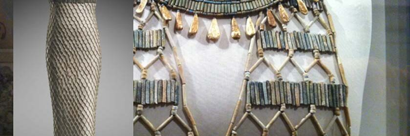 Stunning bead-net dresses: The zenith of ancient Egyptian fashion