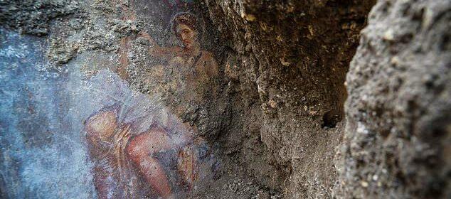 Ancient Artwork Found Under 2,000-Year-Old Volcanic Ash