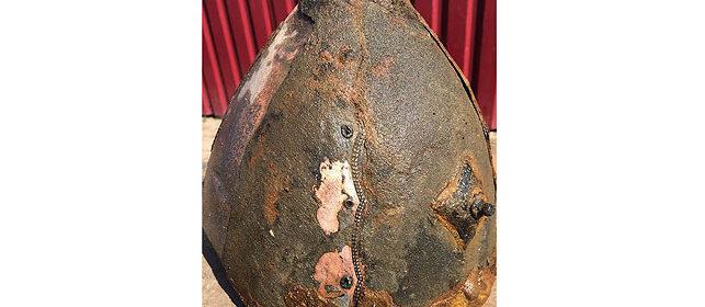 Unique 1000-year-old helmet discovered in Bobruisk river port