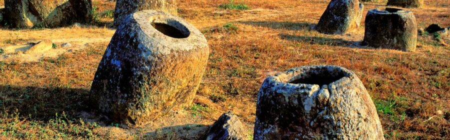 Mystery of the two-ton, 1,000 year old giant stone 'jars of the dead' deepens