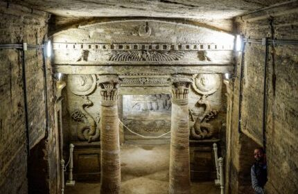 Alexandria catacombs of ancient Egypt saved from flooding thanks to £4.3million restoration