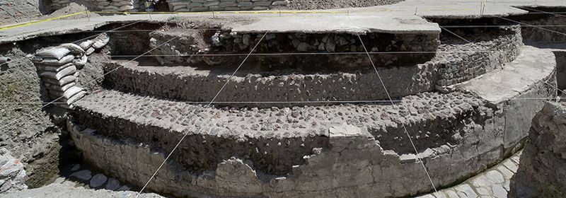 Hidden Aztec temple unearthed in the middle of Mexico City