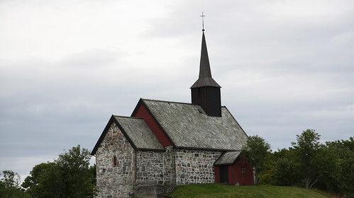 The 1,000-year-old ship found underneath ground on Norwegian island