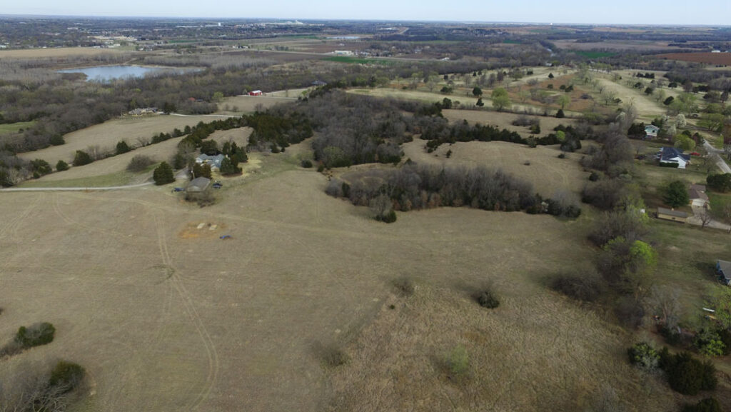 Drone Survey unveils an undiscovered settlement