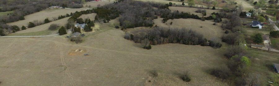 Drone Survey unveils an undiscovered settlement