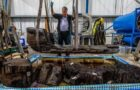 Bronze Age Coffin and Warrior's Axe Found In a Pond at a Golf Course!